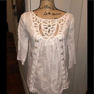 White Bohemian shirt